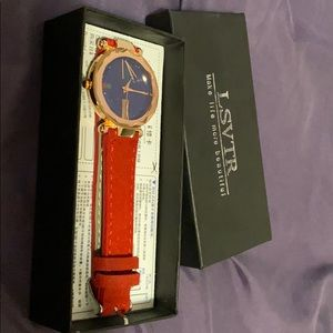 Red Fashion Watch